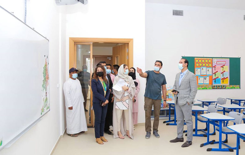 CAS President, Mr. Imran Khan, and the READ Team tour CAS to ensure campus readiness